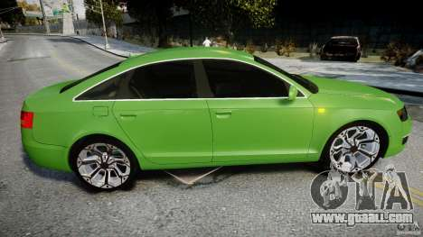 Audi A6 TDI 3.0 for GTA 4 upper view