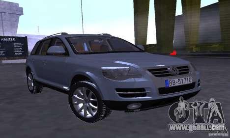 Volkswagen Touareg for GTA San Andreas left view