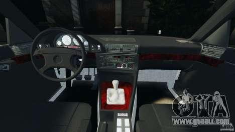 BMW E34 V8 540i for GTA 4 back view