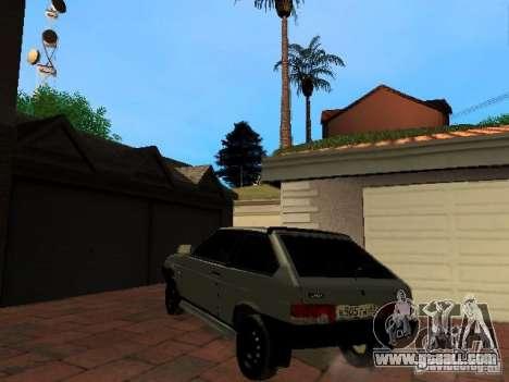 VAZ 2108 Gangsta Edition for GTA San Andreas left view