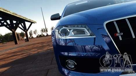 Audi S3 2010 v1.0 for GTA 4 inner view