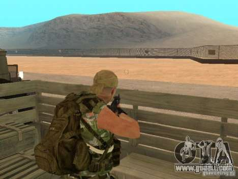 Russian Commando for GTA San Andreas third screenshot