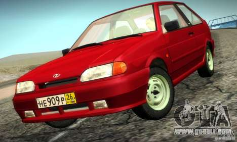 VAZ 2113 Suite v.2.0 for GTA San Andreas left view