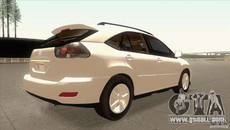 Lexus RX350 for GTA San Andreas right view