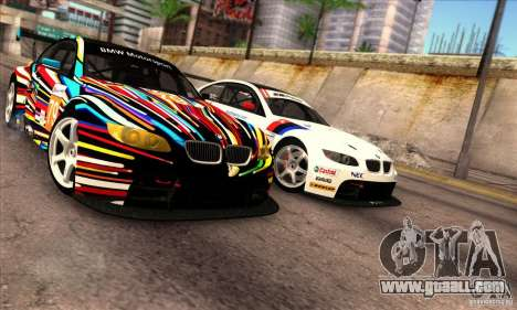 BMW M3 GT2 for GTA San Andreas left view