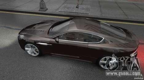 Aston Martin DBS v1.0 for GTA 4 left view