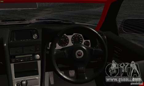 Nissan Skyline R34 Blitz for GTA San Andreas right view