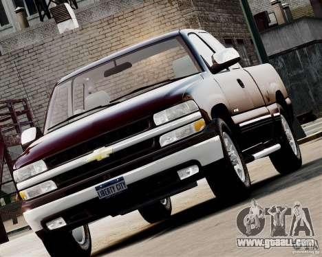 Chevrolet Silverado 1500 2000 for GTA 4