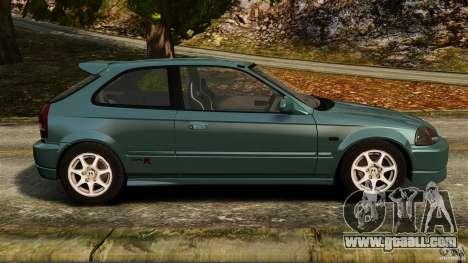Honda Civic Type R (EK9) for GTA 4 left view