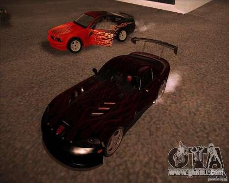Dodge Viper TT for GTA San Andreas left view