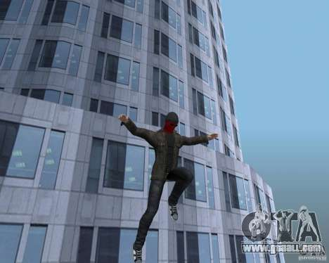 Spider Man for GTA San Andreas sixth screenshot