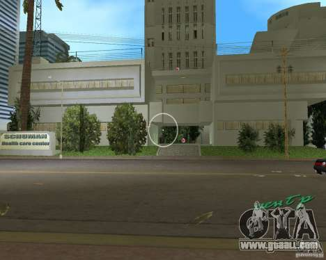 New Downtown: Hospital and scyscrap for GTA Vice City second screenshot
