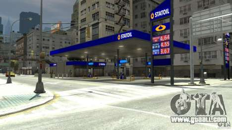 Statoil Petrol Station for GTA 4