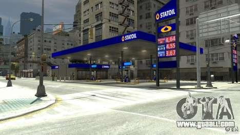 Statoil Petrol Station for GTA 4