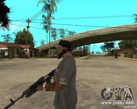 AKS-74 m with GP-25 for GTA San Andreas second screenshot