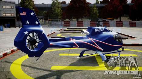 Eurocopter EC130B4 NYC HeliTours REAL for GTA 4 side view