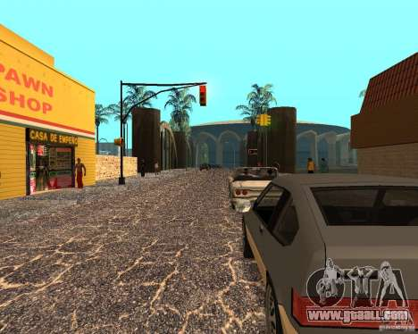 New Ghetto for GTA San Andreas second screenshot