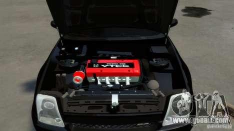 Honda Prelude SiR VERTICAL Lambo Door Kit Carbon for GTA 4 side view