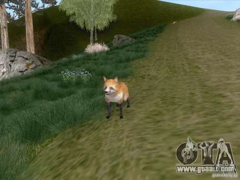 Wild Life Mod 0.1b for GTA San Andreas eighth screenshot