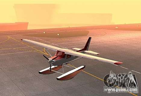 Cessna 152 water option for GTA San Andreas