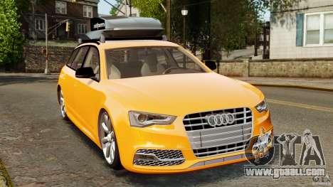 Audi A6 Avant Stanced 2012 v2.0 for GTA 4