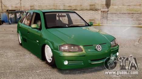 Volkswagen Gol G4 Edit for GTA 4