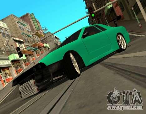 Elegy Piu for GTA San Andreas