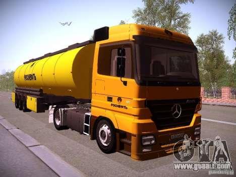 Mercedes-Benz Actros Rosneft for GTA San Andreas