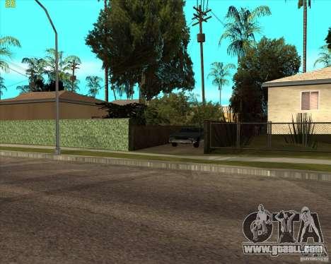 Car in Grove Street for GTA San Andreas forth screenshot