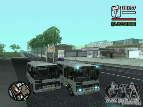 Paz-32054 for GTA San Andreas