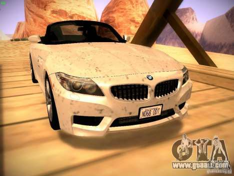 BMW Z4 sDrive28i 2012 for GTA San Andreas right view