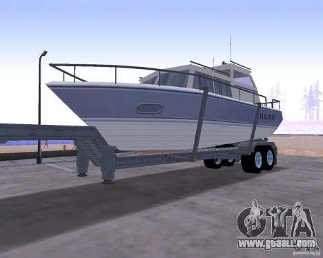 Boat Trailer for GTA San Andreas