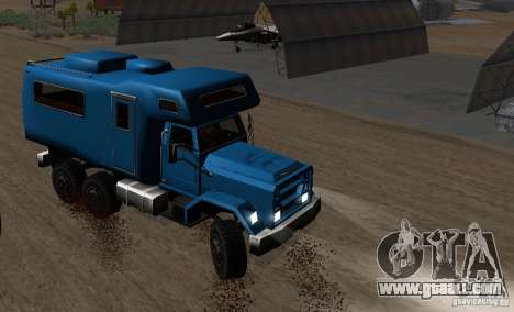 Journey 6x6 Enterable V1 for GTA San Andreas left view