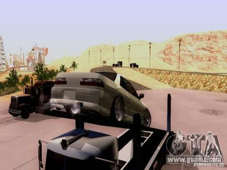 Nissan 240SX (S13) for GTA San Andreas back view
