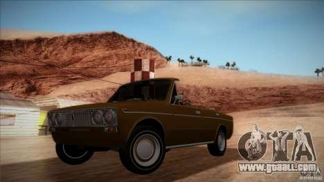 VAZ 2103 Convertible for GTA San Andreas side view