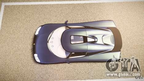 Koenigsegg CC8S 2002 for GTA 4 right view