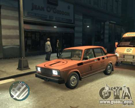 VAZ 2105 Taxi for GTA 4