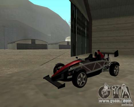 Ariel Atom V8 for GTA San Andreas right view