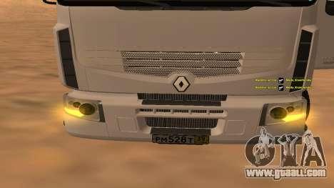 Renault Premium for GTA San Andreas back left view
