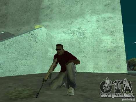 FN Scar-L HD for GTA San Andreas sixth screenshot