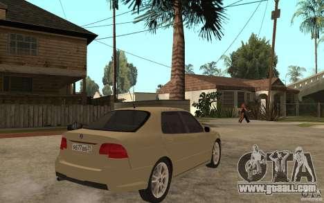 Saab 9-5 for GTA San Andreas right view