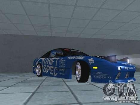 Nissan RPS13 Drift Spec for GTA San Andreas left view