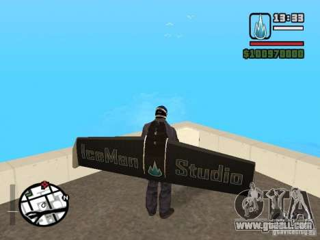 Jetwing Mod for GTA San Andreas forth screenshot