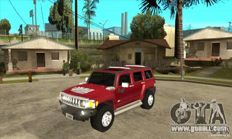 Hummer H3 for GTA San Andreas