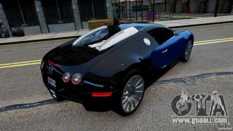 Bugatti Veyron 16.4 v1.0 wheel 2 for GTA 4 left view