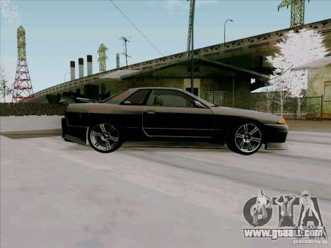 Nissan Skyline GTS-T for GTA San Andreas back view