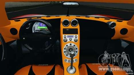 Koenigsegg CCX 2006 v1.0 [EPM][RIV] for GTA 4 back view
