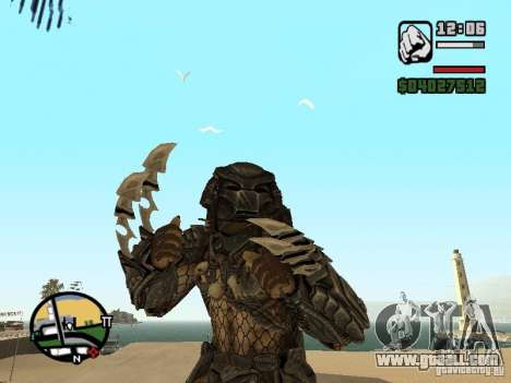 Predator Predator (the mask) for GTA San Andreas second screenshot