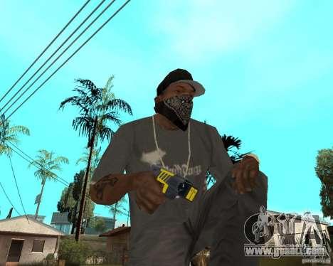 Taser for GTA San Andreas
