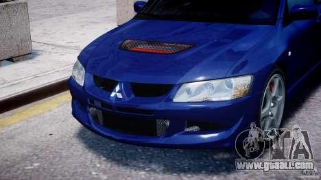 Mitsubishi Lancer Evolution VIII for GTA 4 side view